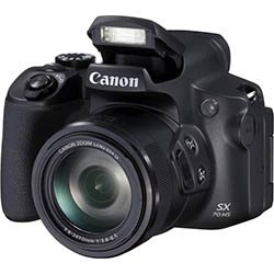 Canon PowerShot SX70 HS - Cámara Bridge de 20.3 MP (Zoom óptico de 65x, DIGIC 8, 10 fps, Vídeo 4K, LCD, ángulo Variable)
